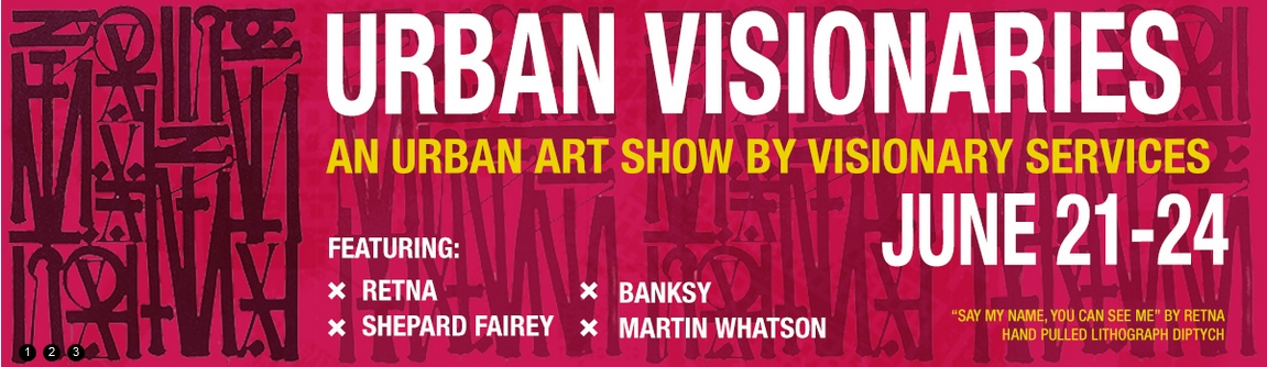 Urban Visionaries Art Show